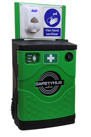Purge 240 Mobile sanitiser station