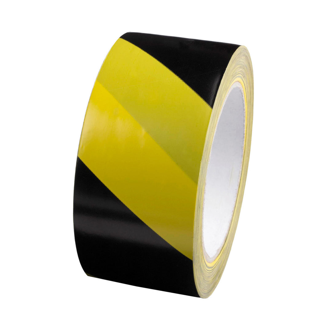 Black/Yellow Self Adhesive Floor Tape