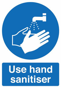 Purge Foamex Sign - Use Hand Sanitiser
