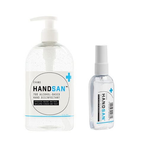 70% Alcohol-Based Hand Sanitiser