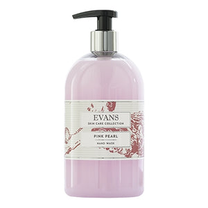 Evans Pink Pearl Pearlised Hand, Hair and Body Wash - 500ml