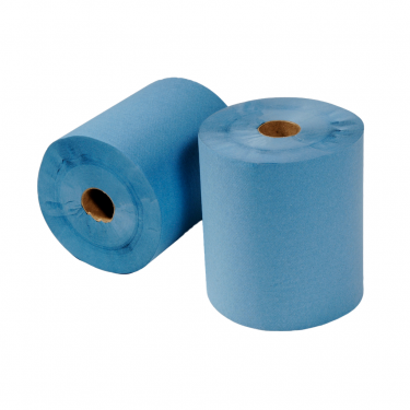 2ply Blue Centrefeed Rolls