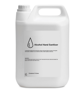 Alcohol Hand Sanitiser - 80% Alcohol - 5L