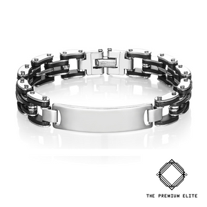 """Rogue"" Stainless Steel Single Chain Bracelet"