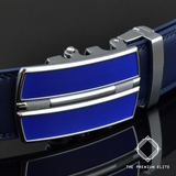 "Premium ""Raptor"" Ratchet Belt - Genuine Leather"