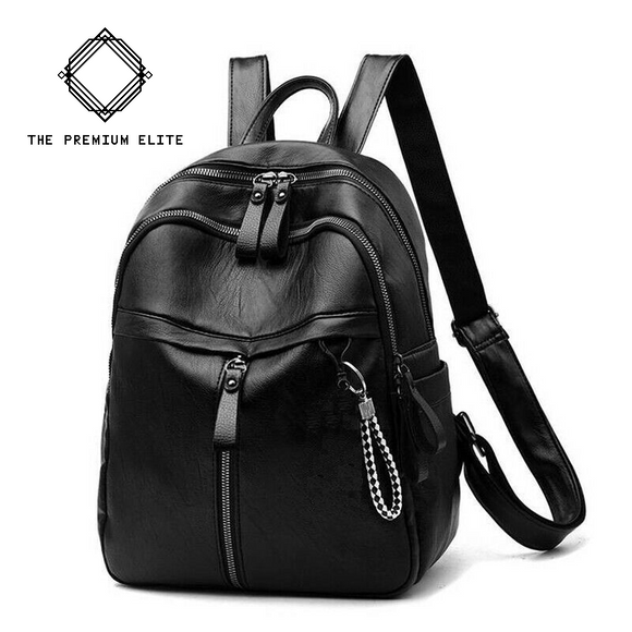 Sleek Casual Women's Small Backpack