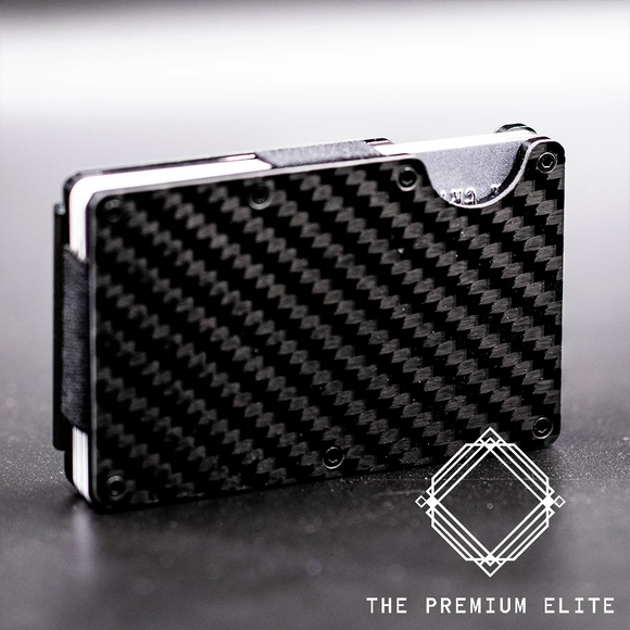 The Premium Elite Carbon Fibre Slimline Wallet