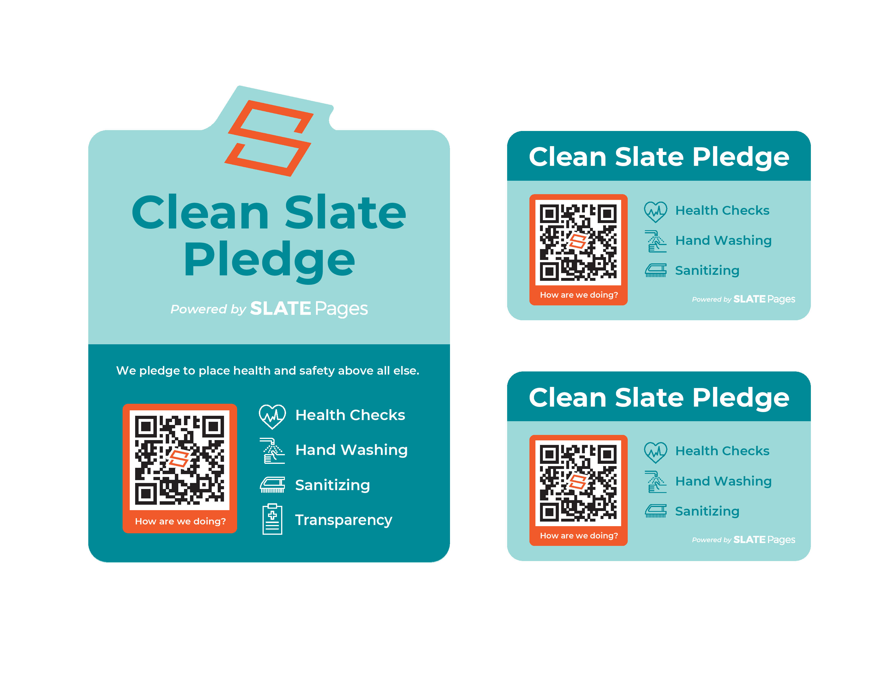 Clean Slate Pledge: COVID-19 Health Screening Solution