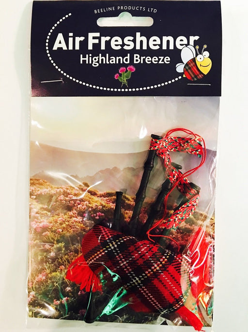 Bag Pipe Air Freshener