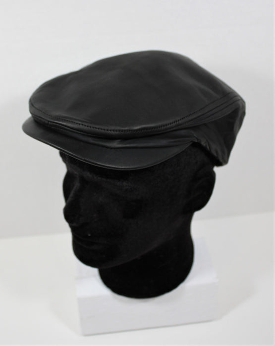 Men's Leather Ivy Cap