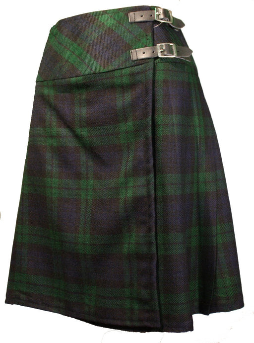 Ladies Black Watch (Modern) Knee High Kilt