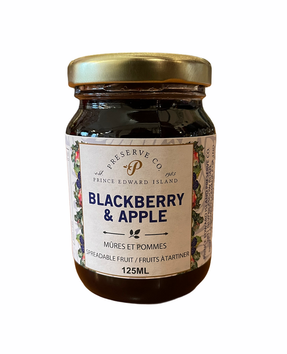 Blackberry & Apple Jam (125mL)