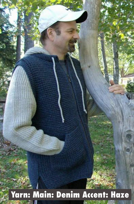 CZP - Zippered Popcorn Cardigan