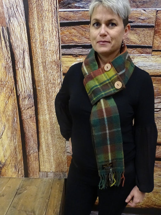 Canadian Rockies Button Scarves