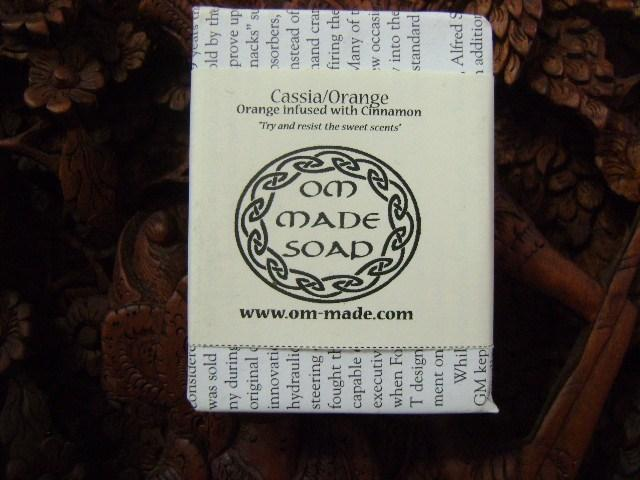 Cassia/Orange Soap Bar