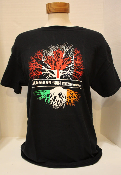 Canadian Grown, Irish Roots T-Shirt