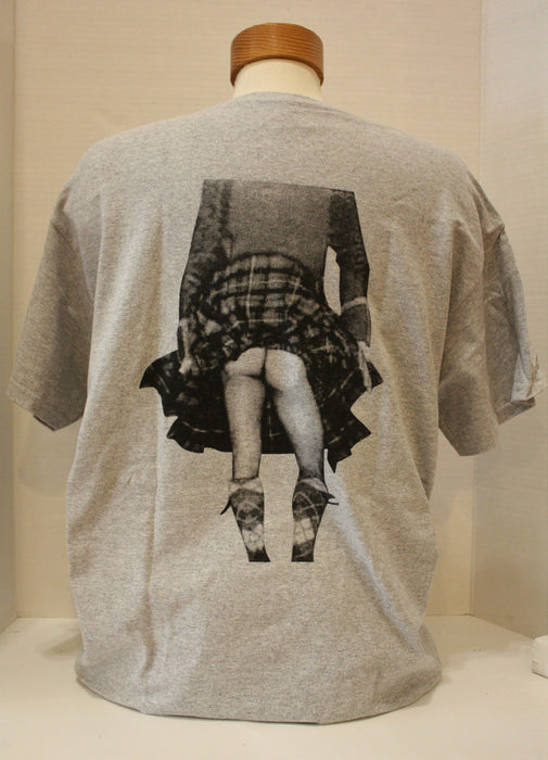 It's A Kilt T-Shirt - Grey (Back)