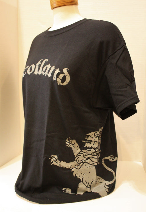 Scotland T-Shirt with Lion on Side (Side)