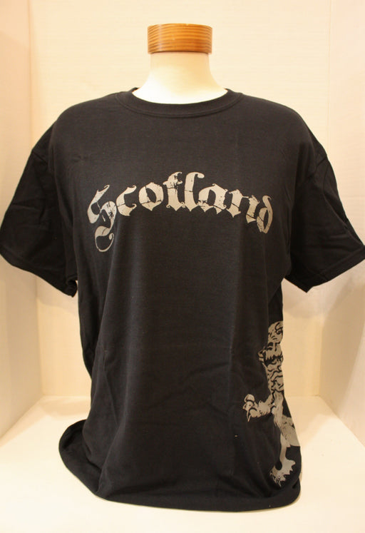 Scotland T-Shirt with Lion on Side (Front)