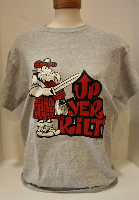 Up Your Kilt T-Shirt