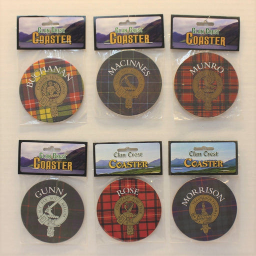 Scottish Clan Coasters