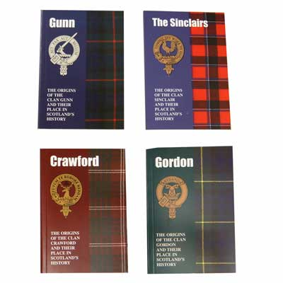 Scottish Clan Name Books