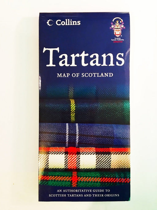 Tartans - Map of Scotland