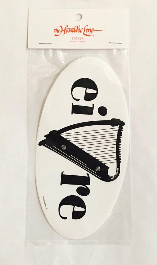 Eire Harp Sticker
