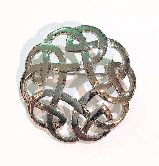Eternal Interlace Brooch 1