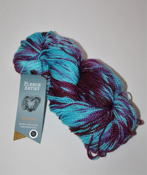 Hand Dyed Tree Wool - Purple Haze