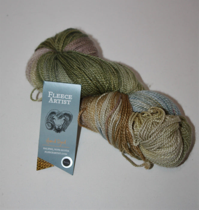 Hand Dyed Tree Wool - Sea Oak