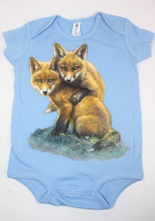 Fox Pair Snap Onsie