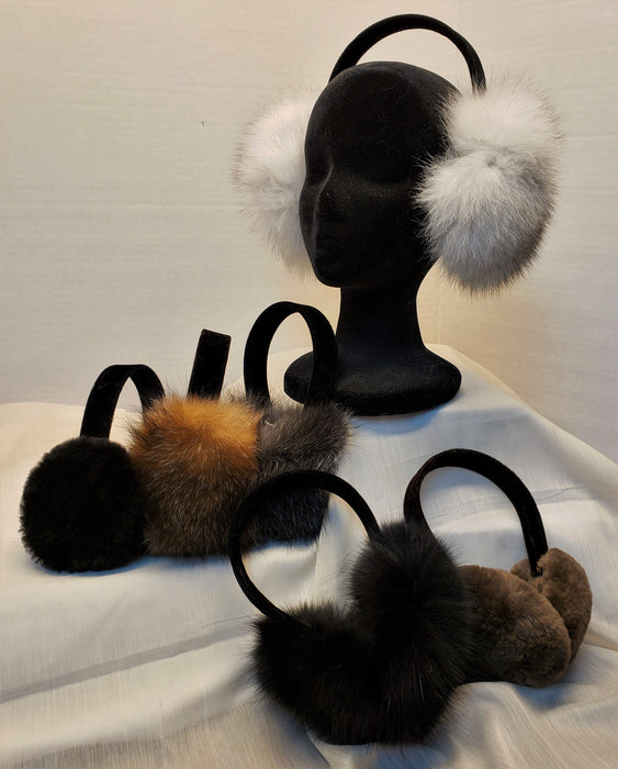 Adjustable Fur Ear Muffs