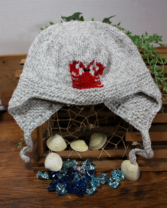 Grey Lobster Hat