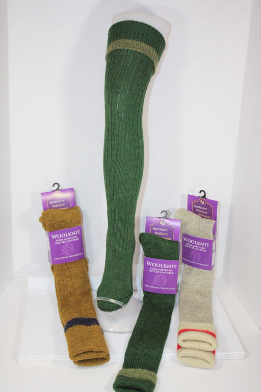 Knee Wool Knit Socks