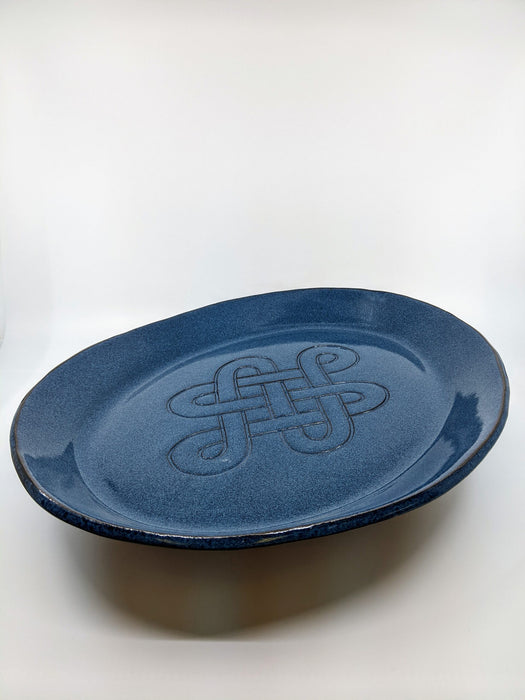Celtic Blue Large Oval Platter