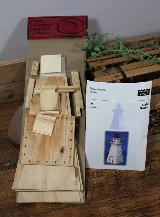Lighthouse - Historically Wooden Model Kit