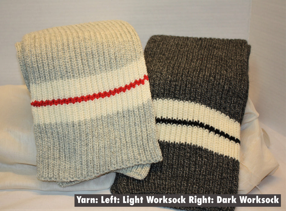 MNWS - Work Sock Wide Scarf