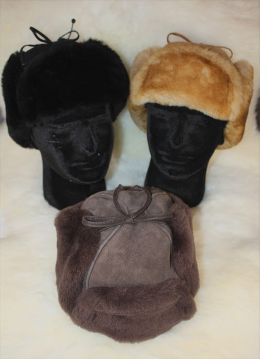 Sheepskin Mountie Hats