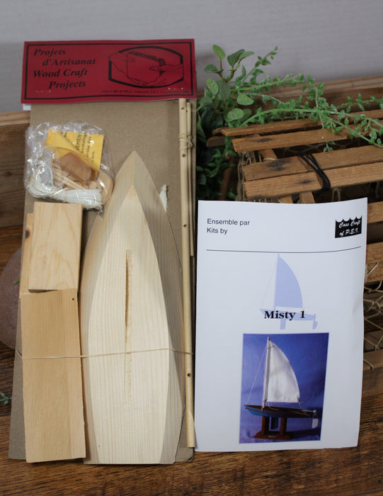Misty 1 Wooden Boat Model Kit