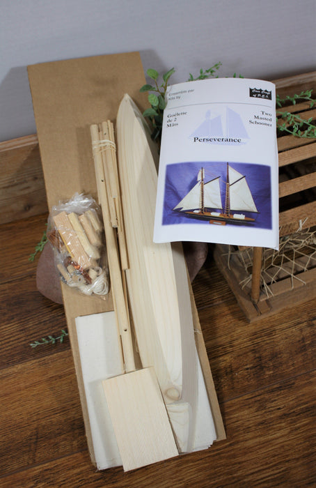 Perseverence Wooden Boat Model  Kit