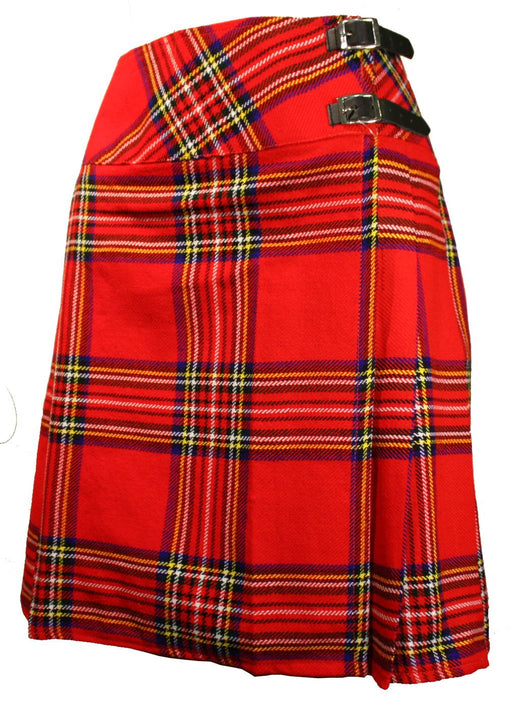 Ladies Royal Stewart Knee High Kilt
