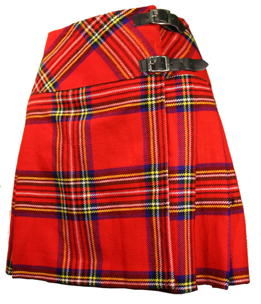 Ladies Royal Stewart Black Billie Kilt