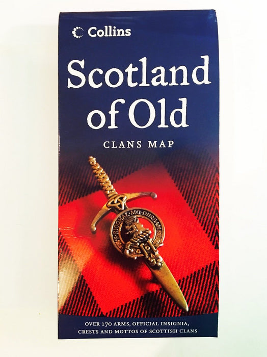 Scotland of Old - Clans Map