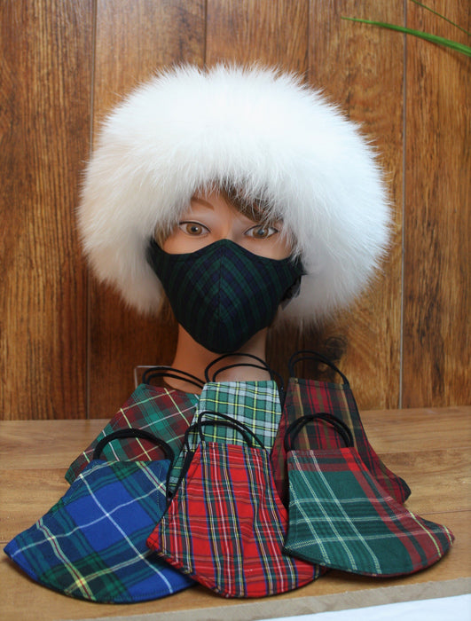 Cotton Tartan Masks