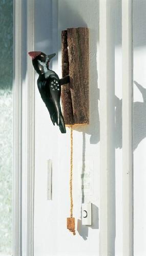 Door Knocker - Pileated Woodpecker