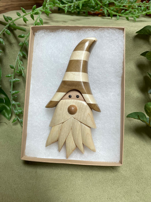 Hanging Maritime Gnome Ornament