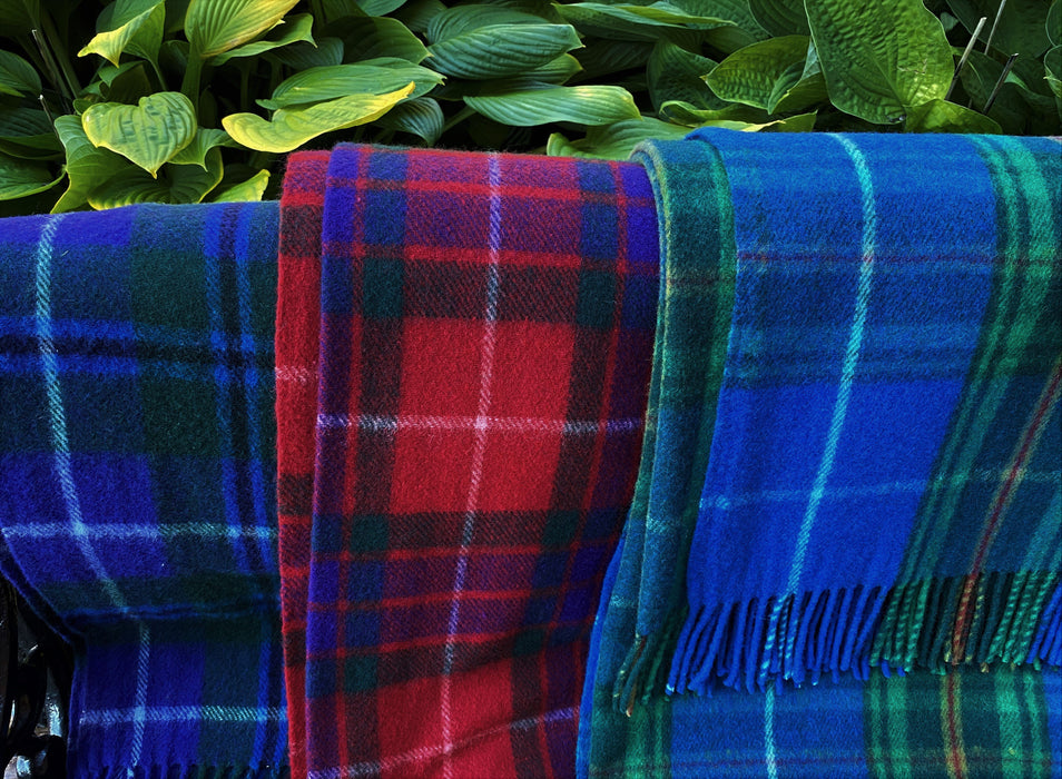Wool Tartan Throw