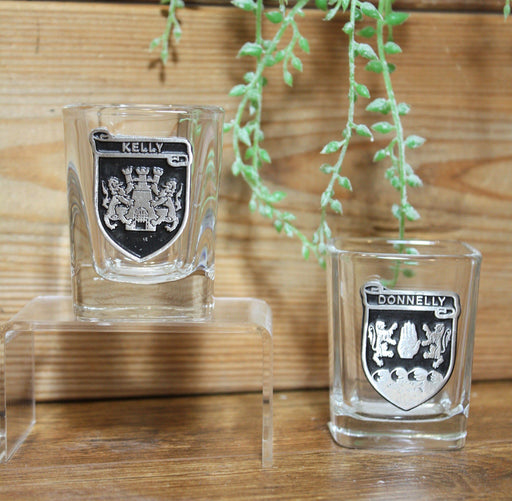 Irish Family Name Shot Glasses