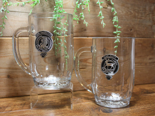 Scottish Clan Crested Beer Mugs